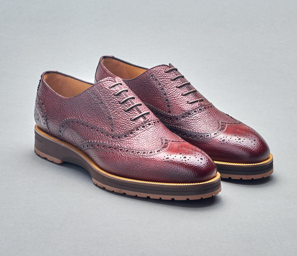SC575 Scotch Grain Burgundy DP