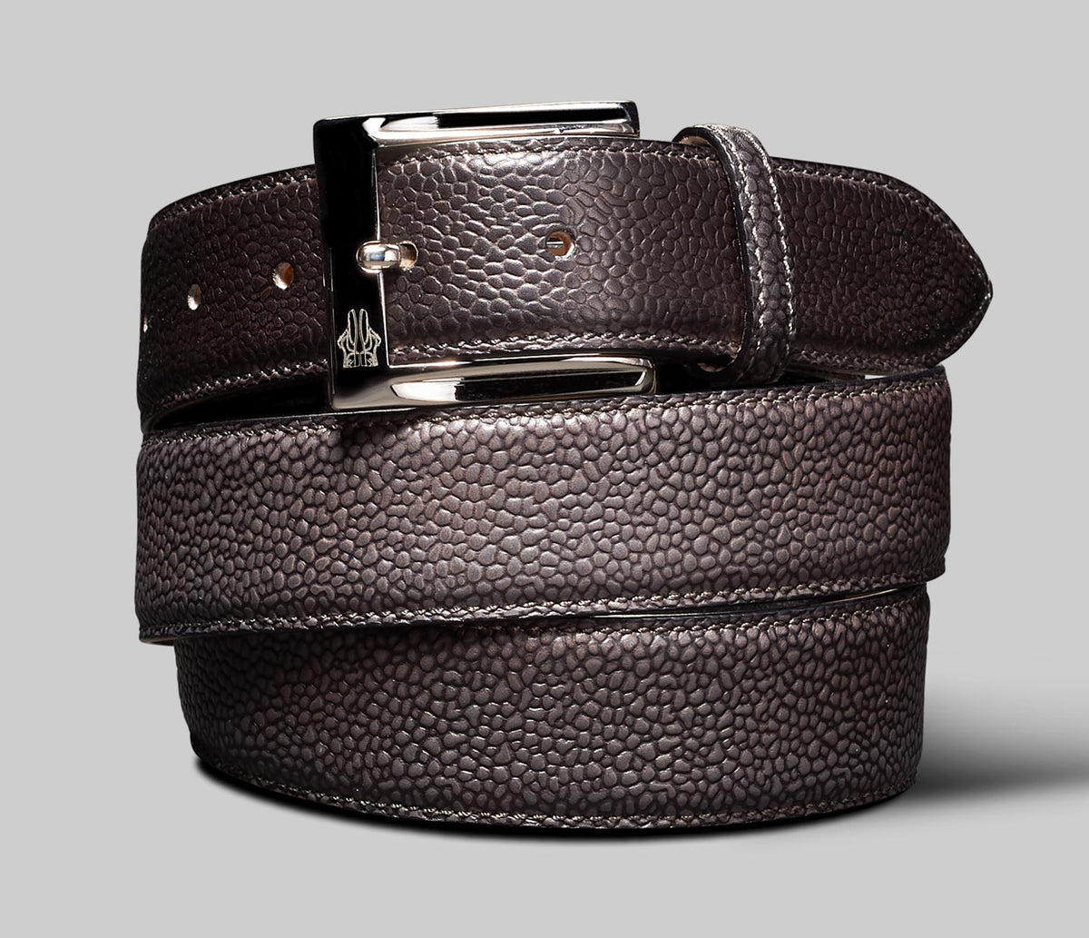 Belt in Scotch Grain Anthracite