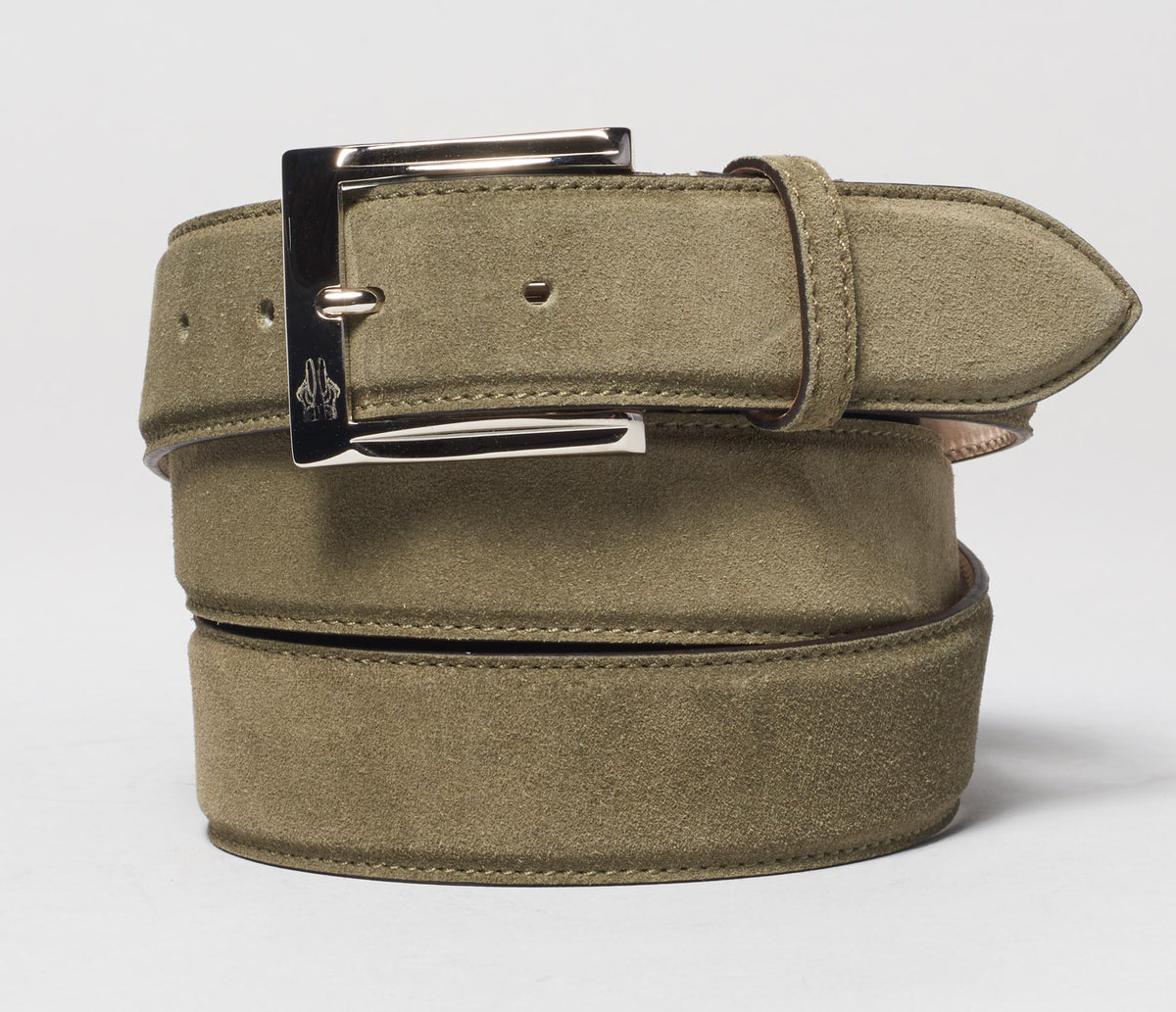 Belt In Velour Aneto