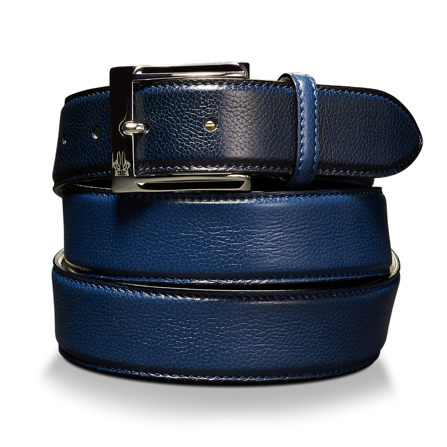 Belt in Soft Ginger Navy