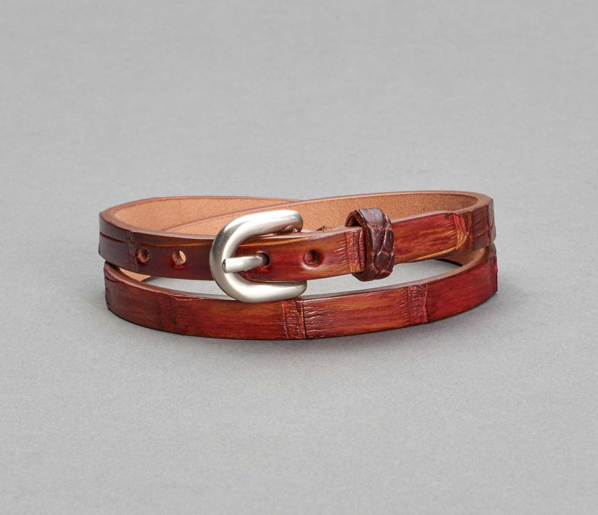 Bracelet Alligator Tan