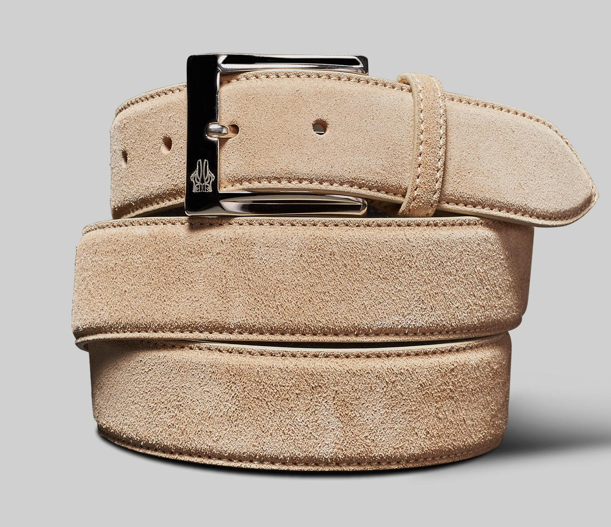 Belt in Velour Stucco