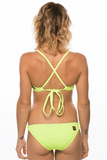 Triangle Top - Highlighter Yellow