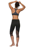 Byron Capri Leggings - Black