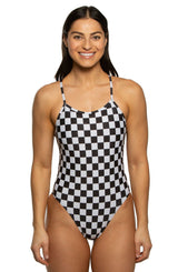 Brandon Swim Onesie - SoCal