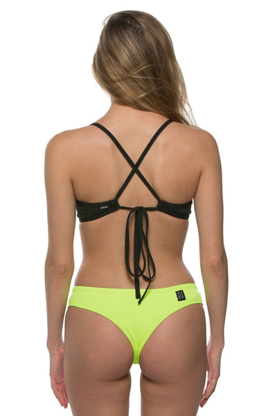 Duke Bikini Spodek - Highlighter Yellow