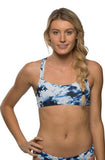 Printed Fendrick Fixed-Back Top - Bondi