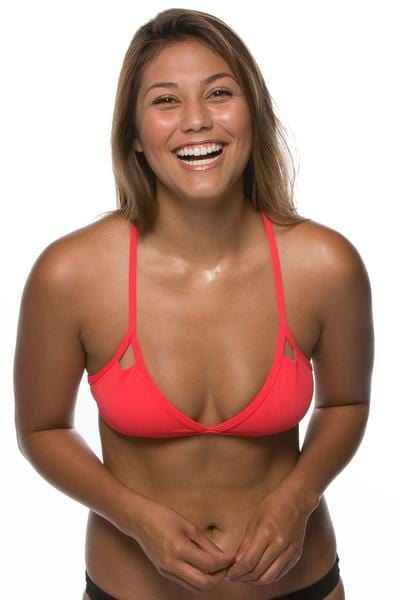 Finn Bikini Top - Strawberry