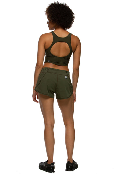 Hewson Run Short - Army