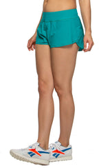 Hewson Run Short - Aruba Blue