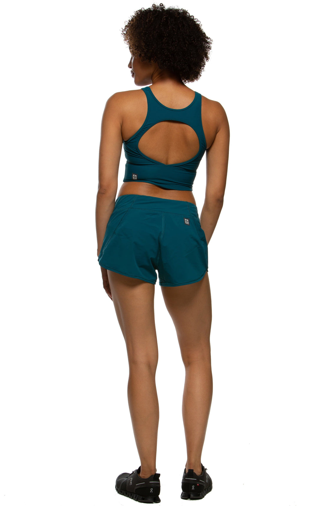 Hewson Run Short - Peacock