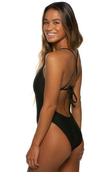 Jackson Swim Onesie - Black