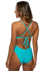 Jackson Swim Onesie - Hawaii Blue