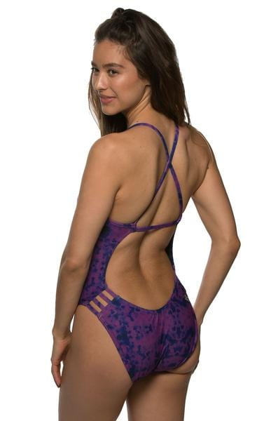 Julian Swim Onesie - Murple
