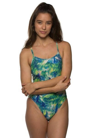 Printed Julian Fixed-Back Onesie - St Barts