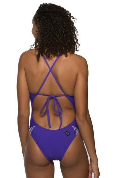 Mateo Swim Onesie - Purple/Lavender