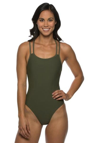 Murray Fixed-Back Onesie - Army