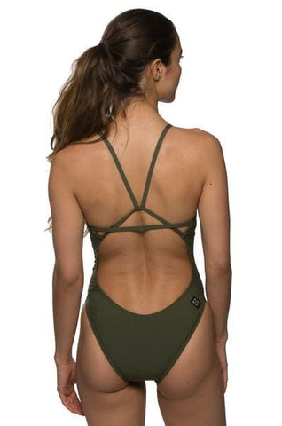 Perry Fixed-Back Onesie - Army