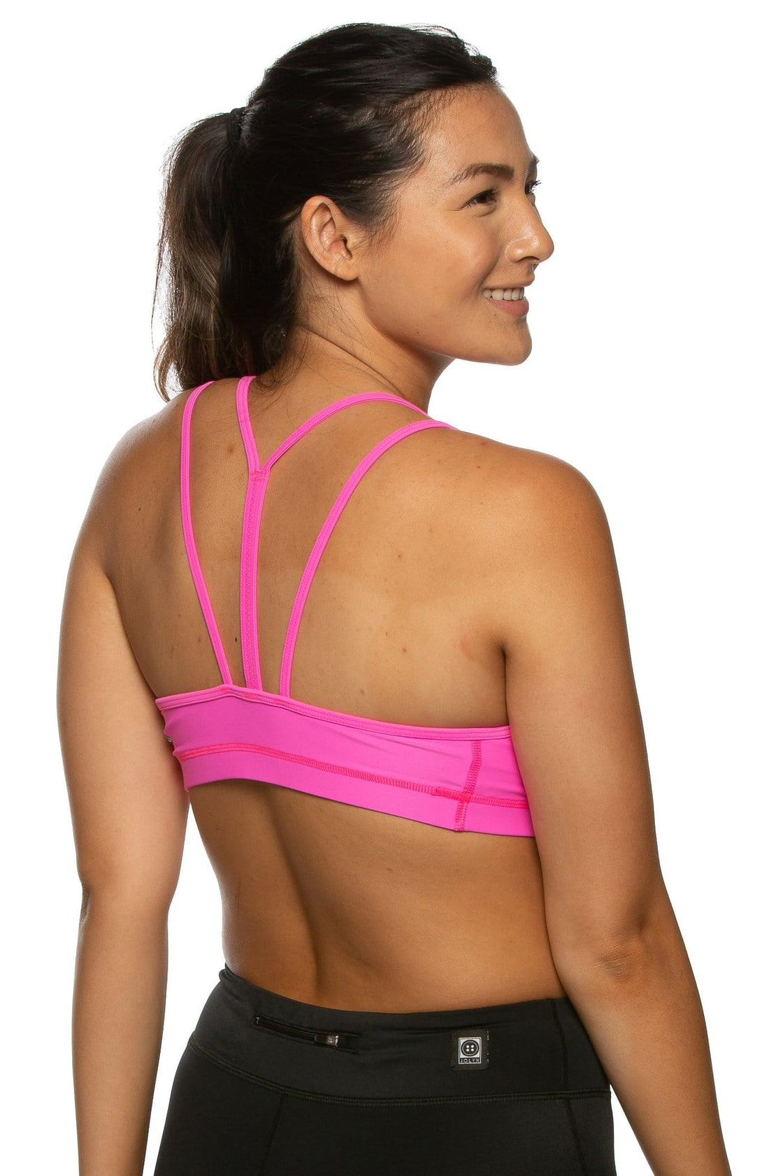 Riley Sports BH - Pop Pink