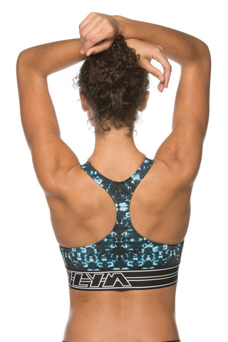 "Printed Sanford ""Training"" Sports Bra - Tourin"