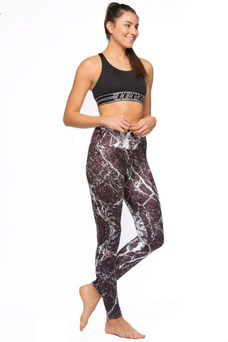 Printed Ren Velvet Legging - Bond