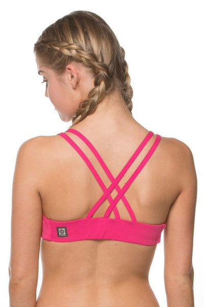 Fendrick Top - Hot pink