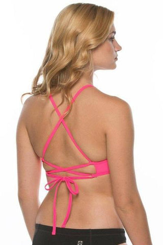 Grayson Top - Hot Pink
