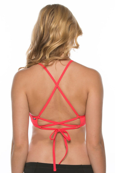 Grayson Bikini Top - Strawberry