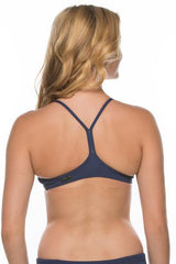 Uniform Bikini Top - Navy