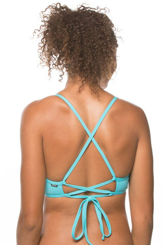 Grayson Top - Hawaii Blue