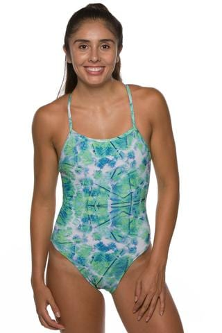 Printed Brandon Fixed-Back Onesie - Triton