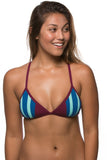 Austin Top - Cabernet/Deep Blue Sea/Beach