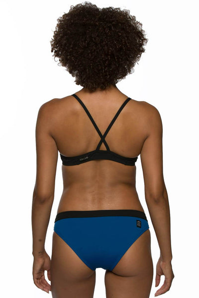 Randy Bikini Bottom - Deep Blue Sea/Black