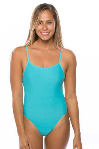Kevin 2 Fixed-Back Onesie - Hawaii Blue