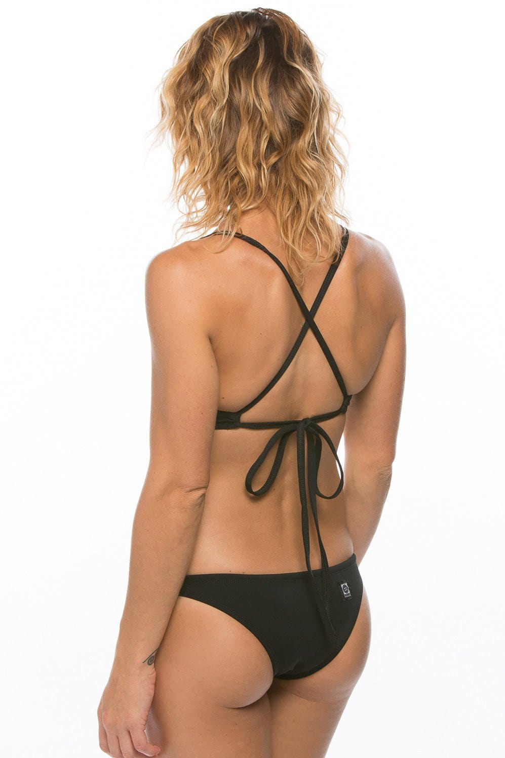 Europe Bikini Bottom - Black