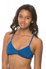 Vent Bikini Top - Deep Blue Sea