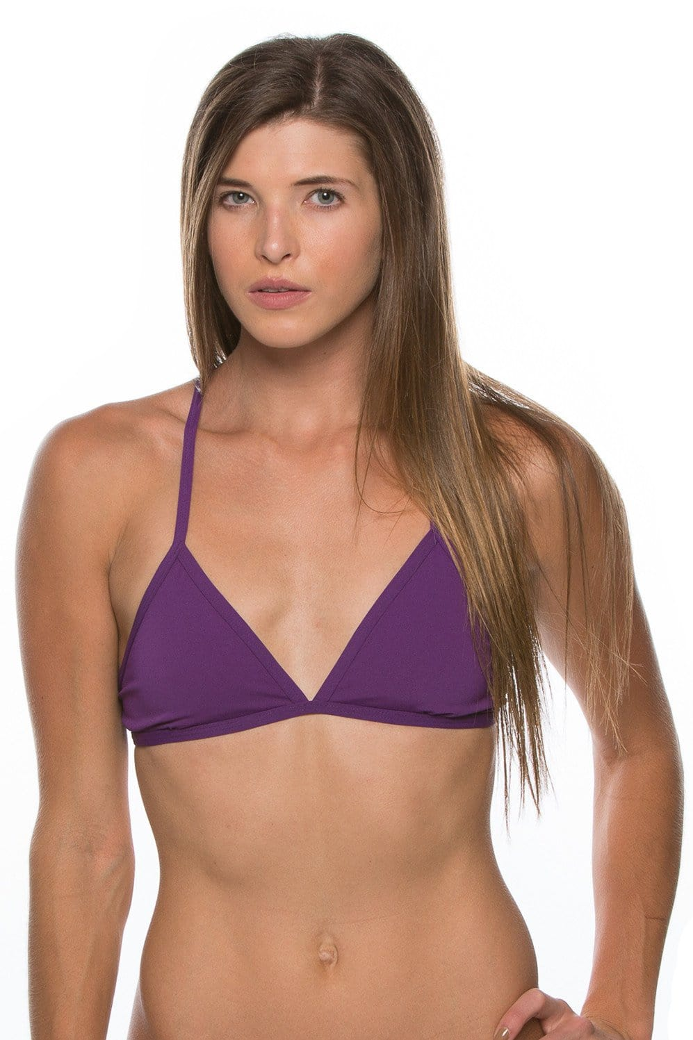 Triangle Bikini Top - Grape