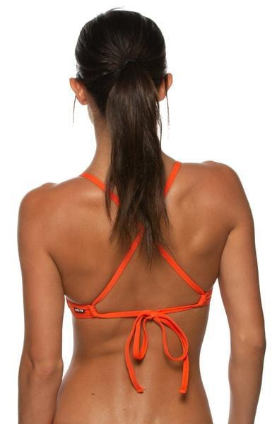 Tomcat Bikini Top - Blood Orange