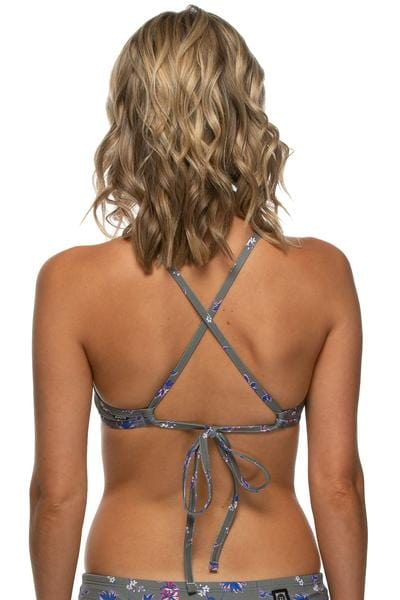 Triangle Bikini Top - Dashed