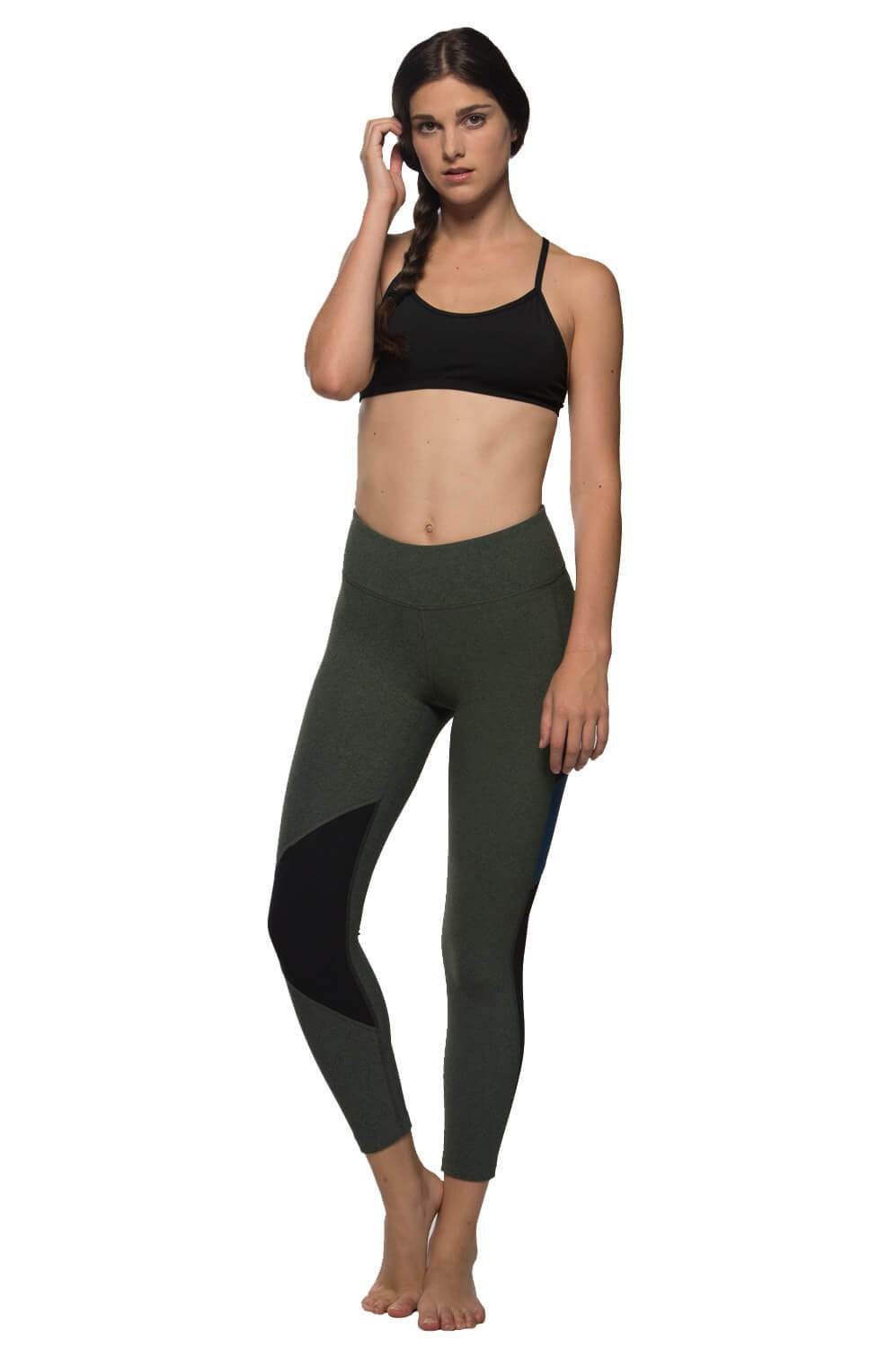 "Chip ""Cozy"" Legging - Sage/Black/Sea"