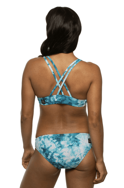 Fendrick Bikini Top - Flower Flake
