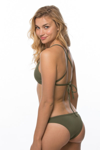Triangle Bikini Top - Army