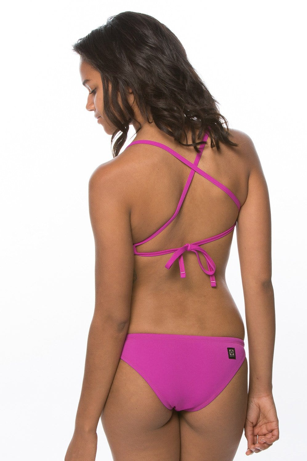 Vent Bikini Top - French Mulberry