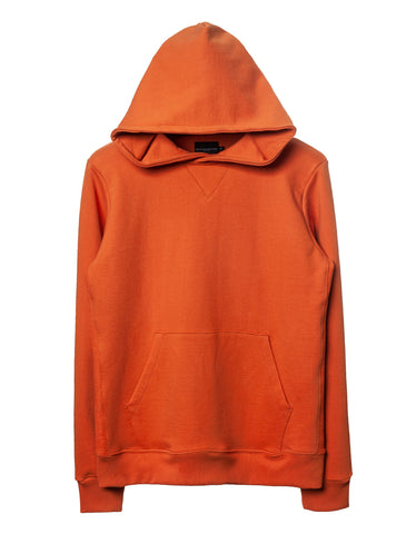 Orange Side-Panel Hoodie