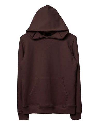 Dark Chocolate Side-Panel Hoodie