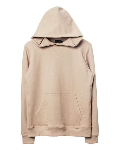 Natural Side-Panel Hoodie