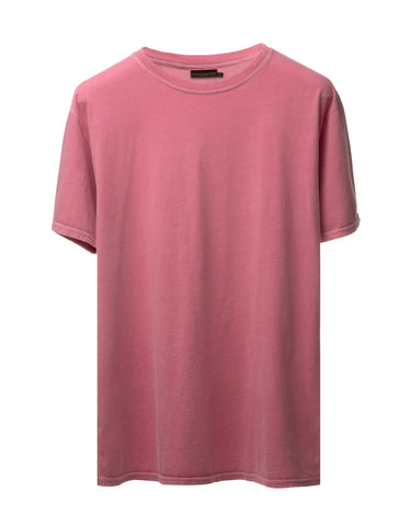 Watermelon Vintage-Dyed Perfecto Tee