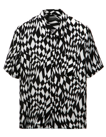 Warped Checker Cabana Shirt