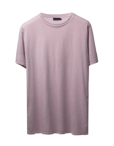Misty Rose Vintage-Dyed Perfecto Tee