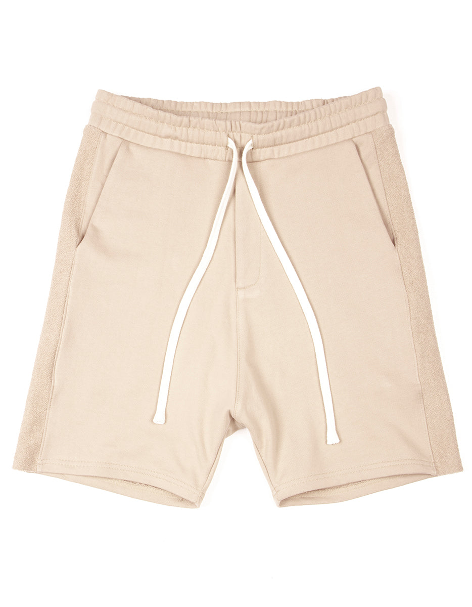 Natural Side-Panel Short